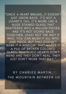 best marriage advice to newlyweds quote from the mountain between