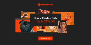 black friday sale elementor
