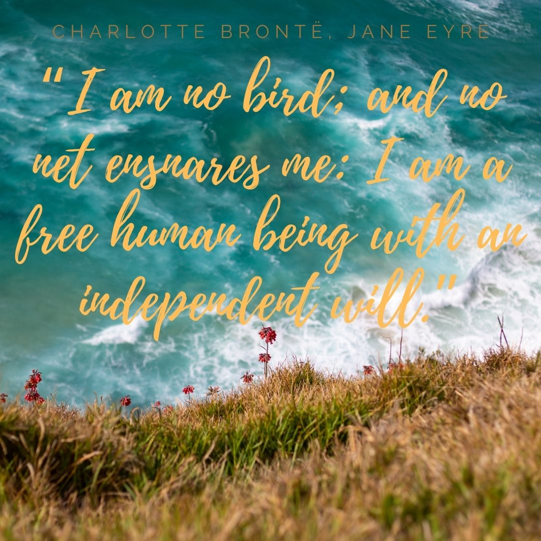 Jane Eyre by Charlotte Bronte quote