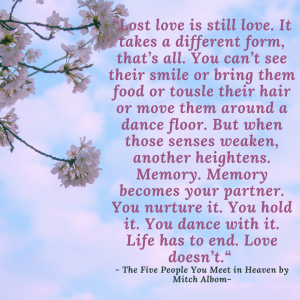 The Five People You Meet in Heaven Quote